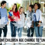 """AGE INCREASED FOR DEPENDENT CHILDREN TO """"UNDER 22"""""""